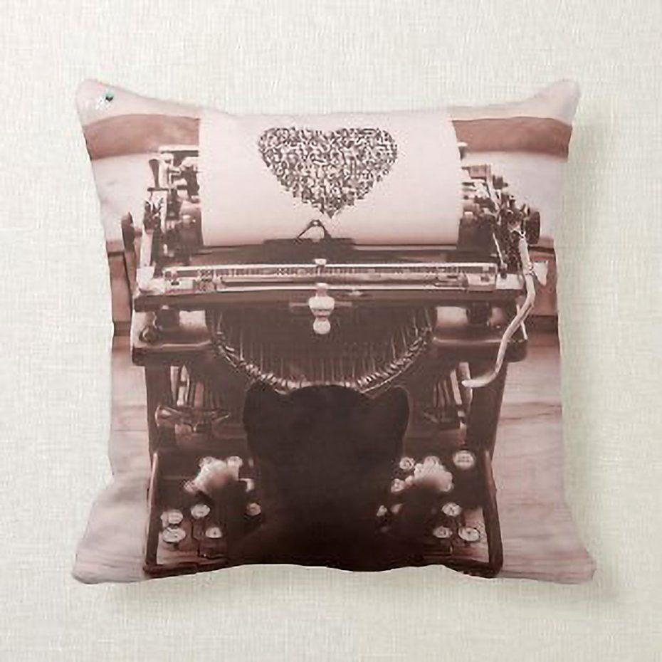 shop Felini's cute typewriter design