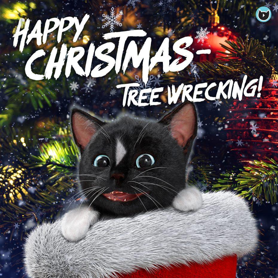 Happy Christmas Tree Wrecking sais Felini